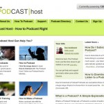 Content & Media Management - The Podcast Host