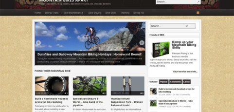 Mountain Bikes Apart Community Site
