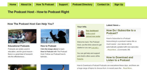 Content & Media Management – The Podcast Host
